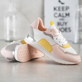 SHELOVET Lekkie Stylowe Sneakersy wielokolorowe 3