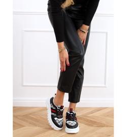 Designerskie buty sportowe czarne 205081 Black wielokolorowe 3