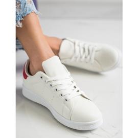 SHELOVET Niskie Buty Sportowe białe 2