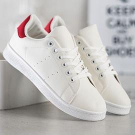 SHELOVET Niskie Buty Sportowe białe 4