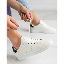 SHELOVET Niskie Buty Sportowe białe 1