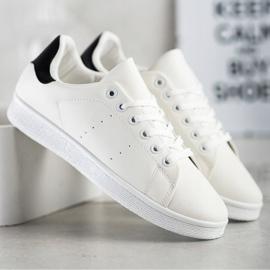 SHELOVET Niskie Buty Sportowe białe 3