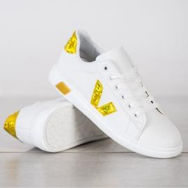 SHELOVET Wiosenne Buty Sportowe białe 2