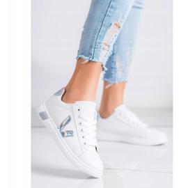 SHELOVET Wiosenne Buty Sportowe białe 1