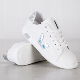 SHELOVET Wiosenne Buty Sportowe białe 3
