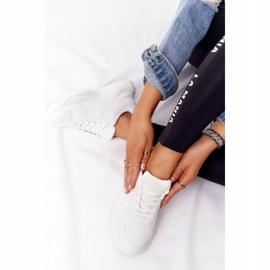 FB2 Damskie Sneakersy Na Dużej Podeszwie Białe Delusion 3