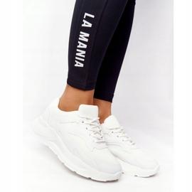 FB2 Damskie Sneakersy Na Dużej Podeszwie Białe Delusion 1