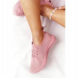 PS1 Damskie Sportowe Buty Slip-on Różowe Do It 6