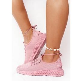 PS1 Damskie Sportowe Buty Slip-on Różowe Do It 1
