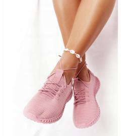 PS1 Damskie Sportowe Buty Slip-on Różowe Do It 3