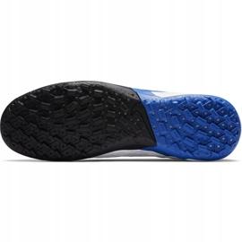 Buty piłkarskie Nike Tiempo Legend 8 Pro Tf AT6136 104 niebieskie białe 8