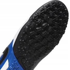 Buty piłkarskie Nike Tiempo Legend 8 Pro Tf AT6136 104 niebieskie białe 7