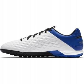 Buty piłkarskie Nike Tiempo Legend 8 Pro Tf AT6136 104 niebieskie białe 2