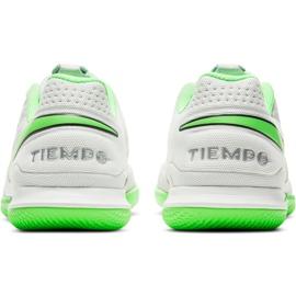 Buty piłkarskie Nike Tiempo Legend 8 Academy Ic AT6099 030 białe białe 4