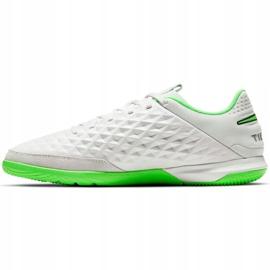 Buty piłkarskie Nike Tiempo Legend 8 Academy Ic AT6099 030 białe białe 2
