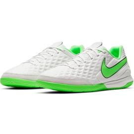 Buty piłkarskie Nike Tiempo Legend 8 Academy Ic AT6099 030 białe białe 3