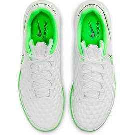 Buty piłkarskie Nike Tiempo Legend 8 Academy Ic AT6099 030 białe białe 1