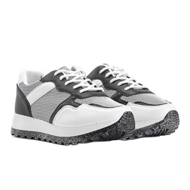 Czarne sneakersy sportowe Antonia 4