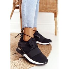 FB2 Damskie Sportowe Buty Sneakersy Czarne Netta 6