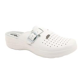 Befado ORTO obuwie damskie 157D004 białe 1