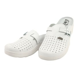 Befado ORTO obuwie damskie 157D004 białe 3