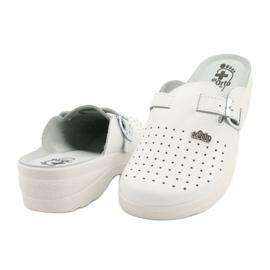 Befado ORTO obuwie damskie 157D004 białe 4