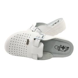 Befado ORTO obuwie damskie 157D004 białe 5