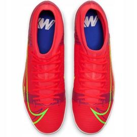 Buty piłkarskie Nike Mercurial Superfly 8 Academy Tf M CV0953 600 czerwone czerwone 1