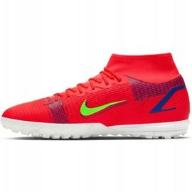 Buty piłkarskie Nike Mercurial Superfly 8 Academy Tf M CV0953 600 czerwone czerwone 2