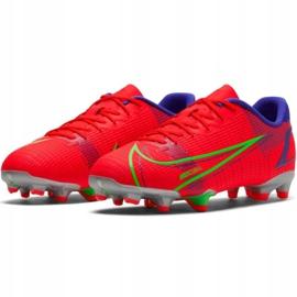 Buty piłkarskie Nike Vapor 14 Academy FG/MG Jr CV0811 600 czerwone czerwone 1
