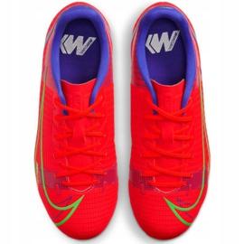 Buty piłkarskie Nike Vapor 14 Academy FG/MG Jr CV0811 600 czerwone czerwone 3