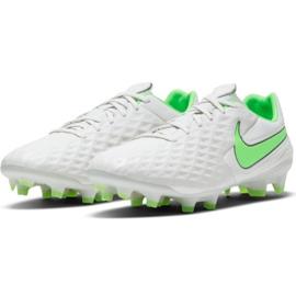 Buty piłkarskie Nike Tiempo Legend 8 Pro Fg M AT6133 030 białe białe 3