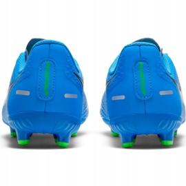 Buty piłkarskie Nike Phantom Gt Academy FG/MG Jr CK8476 400 niebieskie niebieskie 3