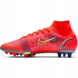 Buty piłkarskie Nike Mercurial Superfly 8 Elite Ag M CV0956 600 czerwone czerwone 2