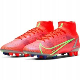 Buty piłkarskie Nike Mercurial Superfly 8 Elite Ag M CV0956 600 czerwone czerwone 3