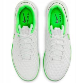 Buty piłkarskie Nike Tiempo Legend 8 Academy Ic M AT6099-030 białe białe 1