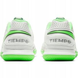 Buty piłkarskie Nike Tiempo Legend 8 Academy Ic M AT6099-030 białe białe 4
