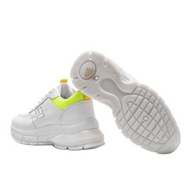 Białe sneakersy sportowe Dana 1