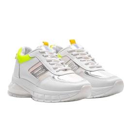 Białe sneakersy sportowe Dana 4
