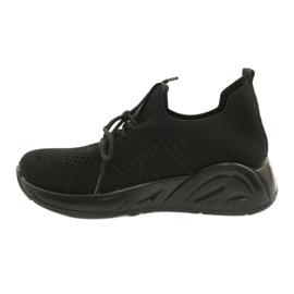 Evento Buty Sportowe wsuwane 21TX02-3674 czarny czarne 1