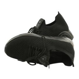 Evento Buty Sportowe wsuwane 21TX02-3674 czarny czarne 4