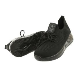 Evento Buty Sportowe wsuwane 21TX02-3674 czarny czarne 3