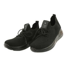 Evento Buty Sportowe wsuwane 21TX02-3674 czarny czarne 2