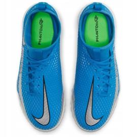 Buty piłkarskie Nike Phantom Gt Academy Df Tf Jr CW6695 400 niebieskie niebieskie 2