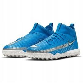 Buty piłkarskie Nike Phantom Gt Academy Df Tf Jr CW6695 400 niebieskie niebieskie 3