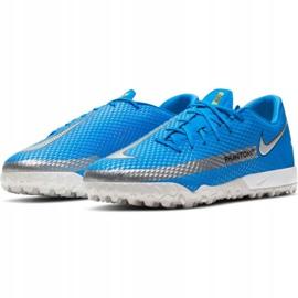 Buty piłkarskie Nike Phantom Gt Academy Tf M CK8470 400 niebieskie niebieskie 3