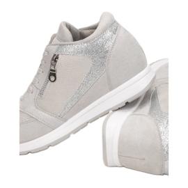 Vices koturno 8368-5 Grey srebrny szare 2