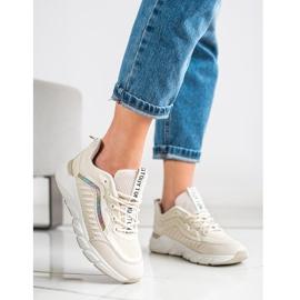 SHELOVET Klasyczne Sneakersy beżowy 1