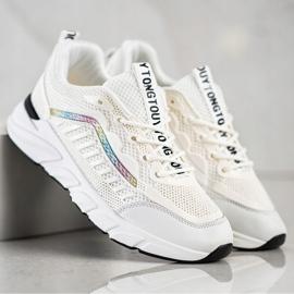 SHELOVET Klasyczne Sneakersy beżowy 2