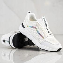SHELOVET Klasyczne Sneakersy beżowy 3